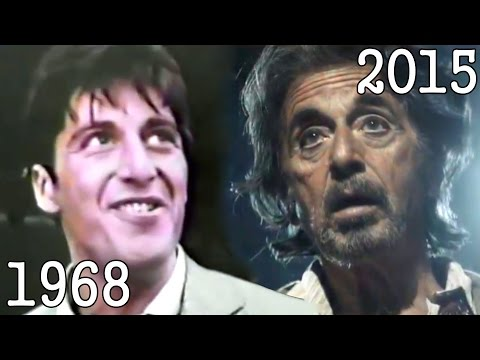 AL PACINO 1968  2015 all movies list from 1968 until today! How much has changed? Before and Now!
