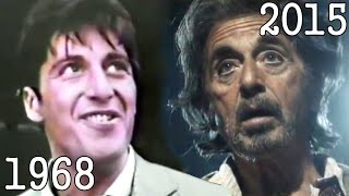 AL PACINO (1968 - 2015) all movies list from 1968 until today! How much has changed? Before and Now!
