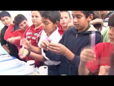 Vista Hills Elementary School Students Visit theTECH20 Center, October 2012