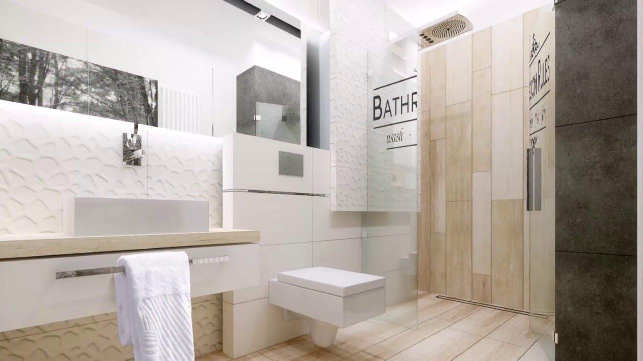 Projekt łazienki Tubądzin