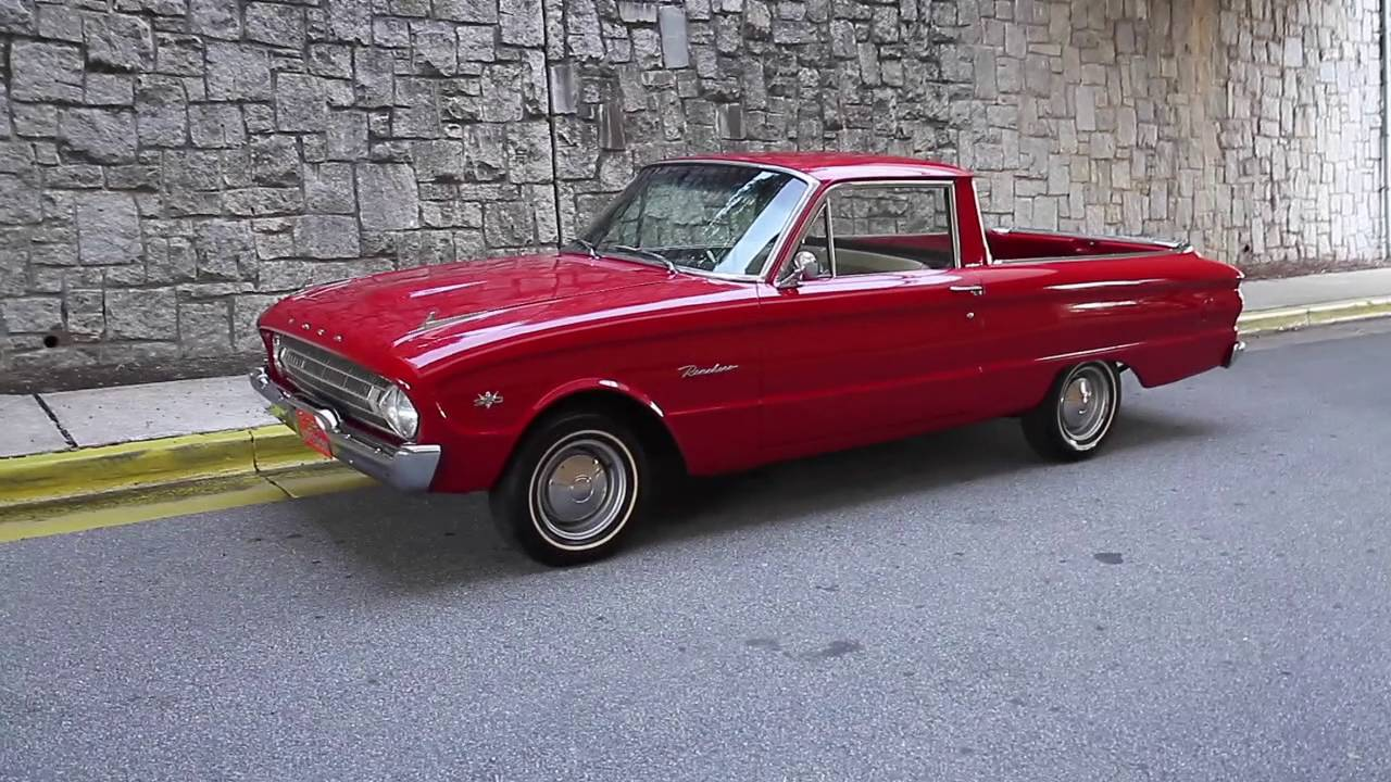 1961 ford falcon ranchero for sale