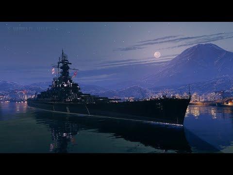Массачусетс - американец с крутым ПМК  (World of Warships)