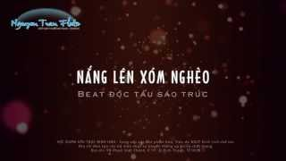 Nắng Lên Xóm Nghèo - Beat độc tấu sáo trúc