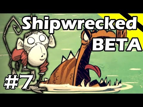 Don't Starve Shipwrecked BETA Gameplay - Part 7 (Wilbur)