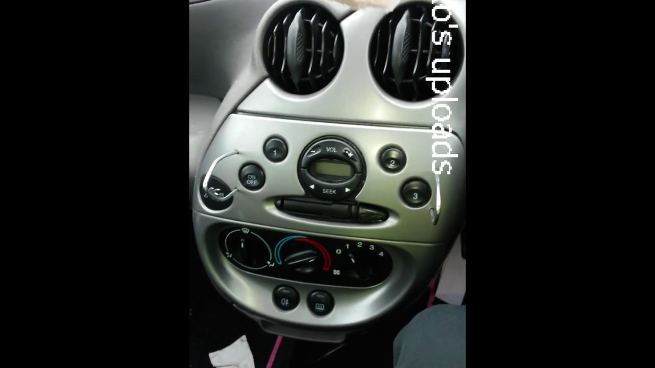 Ford Ka  Onwards Radio Head Unit Removal How To Guide