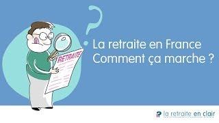 La retraite en France : Comment ça marche ? - Infographie