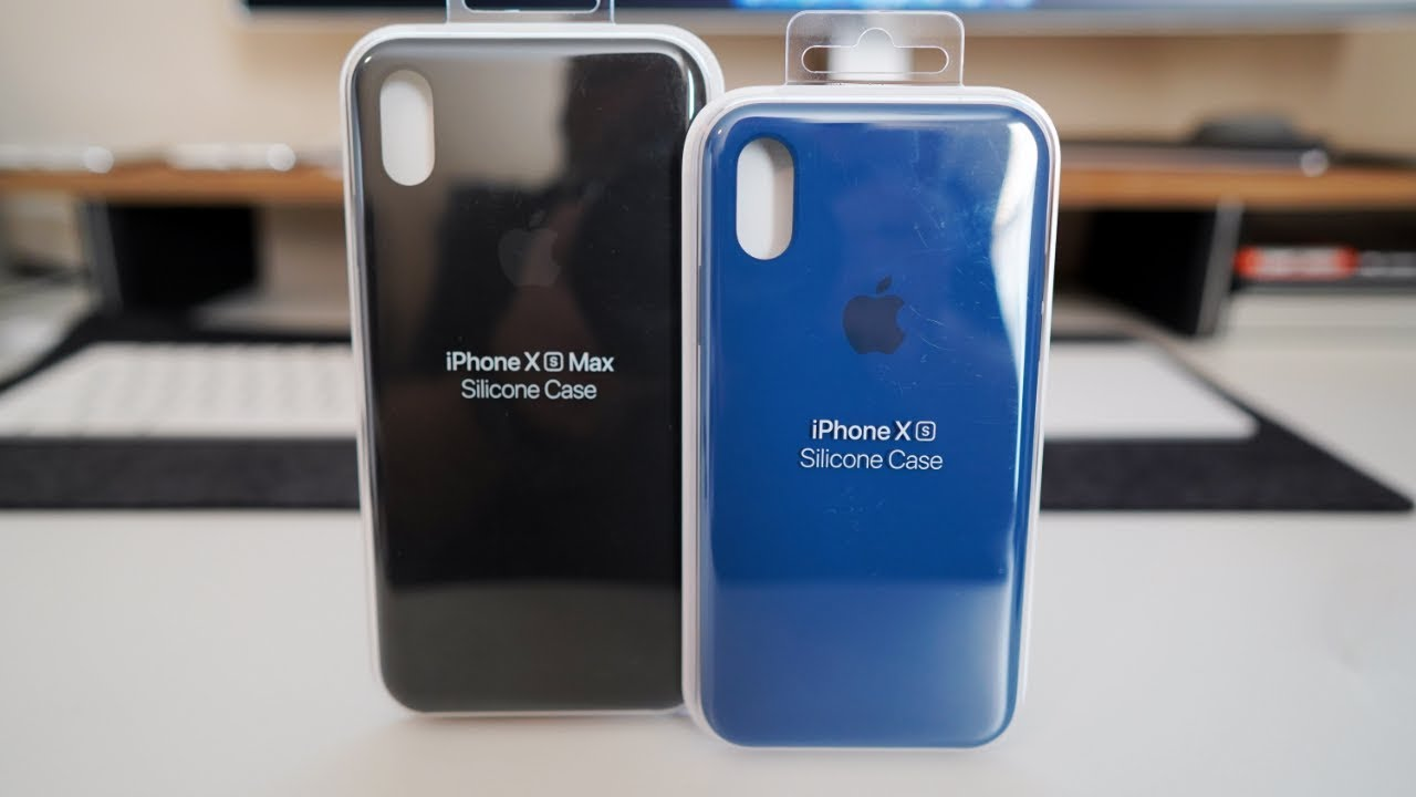 cover iphone xs silicone