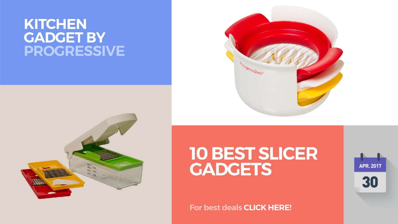 10 best slicer gadgets kitchen gadget by progressive youtube