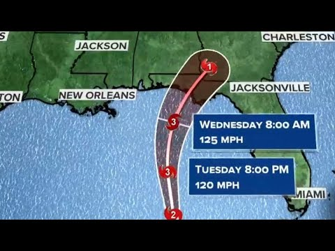 Thousands evacuate Florida Panhandle to prepare for Hurricane Michael