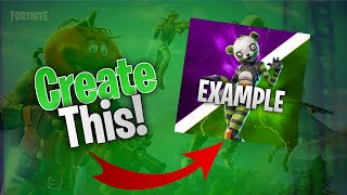 HOW TO MAKE A FORTNITE LOGO FOR FREE ON IOS!!!!