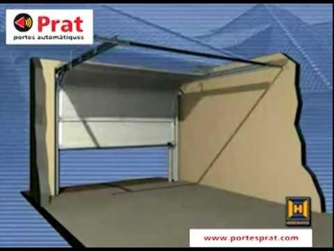 Instalaci n de puerta de garaje seccional prat puertas for Precio de puertas electricas