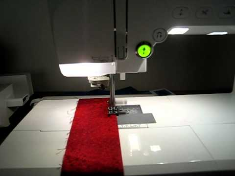 Brother Quattro 40040 Edge Sewing Hands Free YouTube Mesmerizing Hands Free Sewing Machine