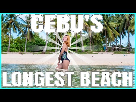LONGEST BEACH IN CEBU PHILIPPINES