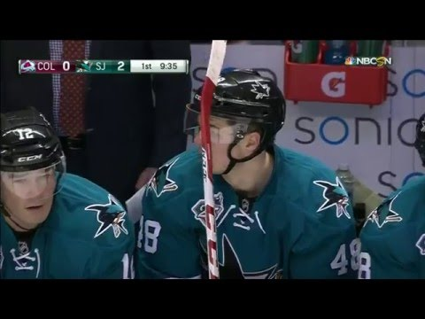 26.01.2016 Colorado Avalanche vs San Jose Sharks