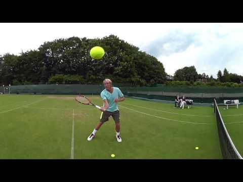 Virtual Reality | Tennis Trainingseinheit Gerry Weber Open 2016