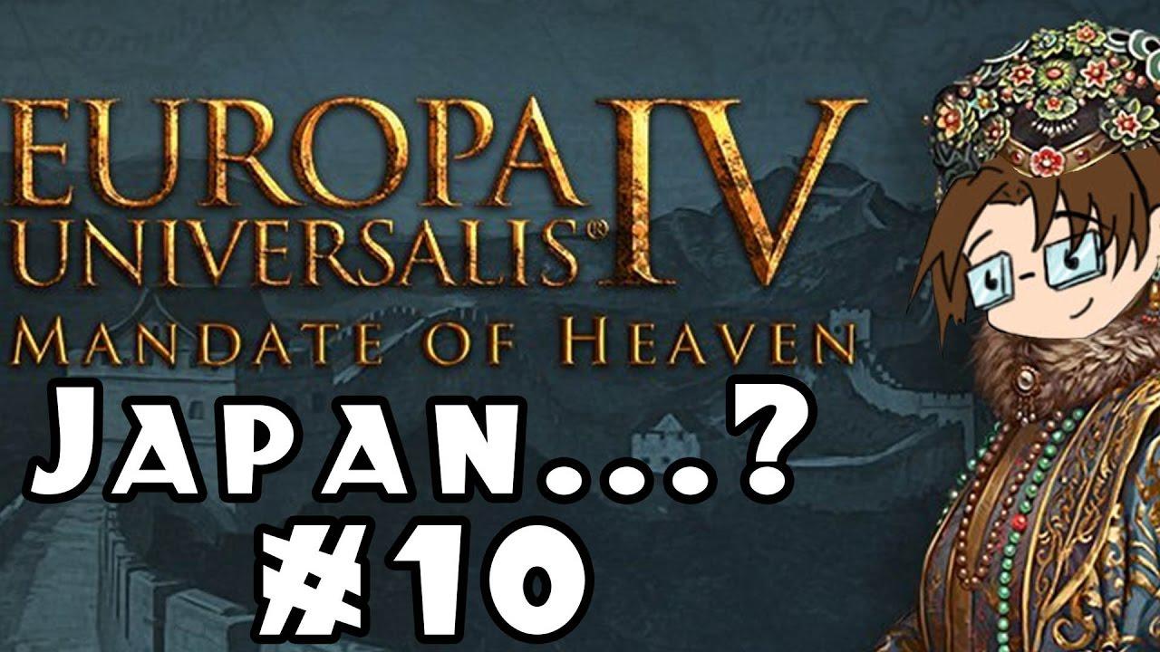 Europa Universalis IV: Mandate of Heaven -- Japan   ? #10 - YouTube
