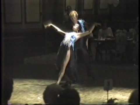 Artie Stone & Mary Murphy  Bolero 1983.