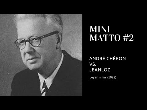 Trappola di Legal - Andre Cheron vs Jeanloz - Minimatto #2 -