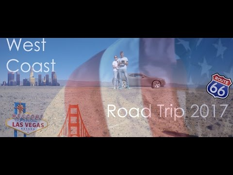 Road Trip USA 2017 WEST COAST Las Vegas Grand Canyon Route 66 Los Angeles San Francisco Travel Movie