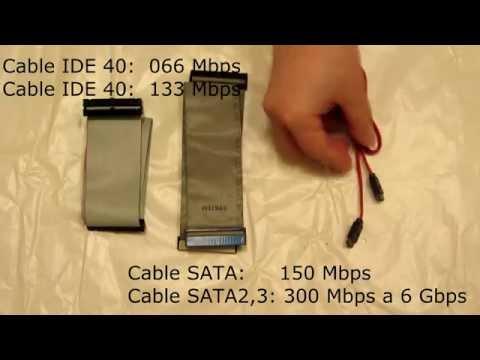 Diferencias entre Serial ATA e IDE, Velocidad y Apariencia