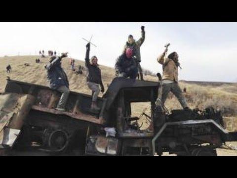 Dakota Access Pipeline protest turns violent