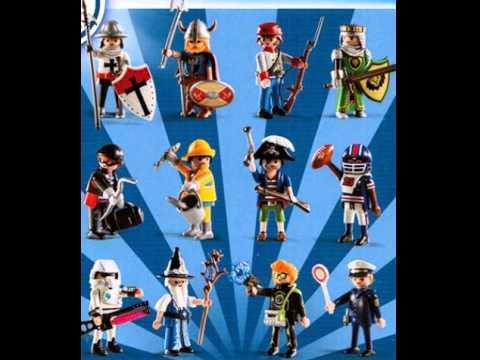 Playmobil 5596 Figures Boys Serie 8 Youtube