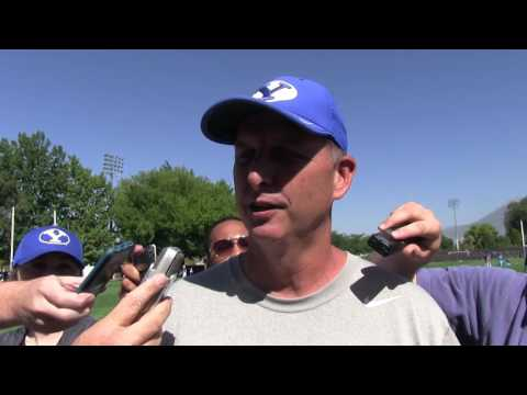 BYU offensive coordinator Ty Detmer talks Arizona recap, Utah week