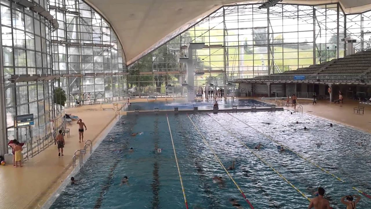 The olympic swimming pool im munich youtube - Olympic swimming pool opening hours ...