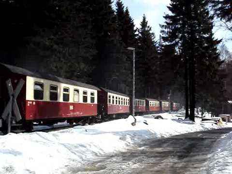 Zugeinfahrt In Schierke