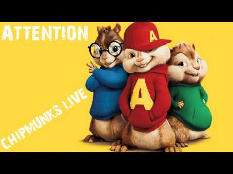 Charlie Puth - Attention (Chipmunks Cover)