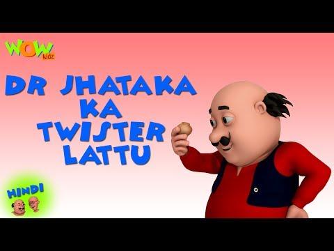 Dr. Jhatka Ka Twister Lattu - Motu Patlu in Hindi - 3D Animation Cartoon - As on Nickelodeon thumbnail