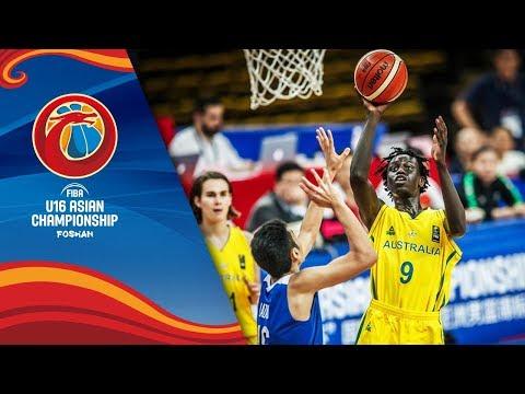 Australia v Philippines - Full Game - FIBA U16 Asian Championship