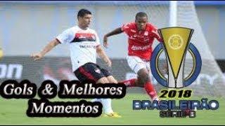 Vila Nova x Atlético-GO - Gols & Melhores Momentos Brasileirão Serie B 2018 11ª Rodada