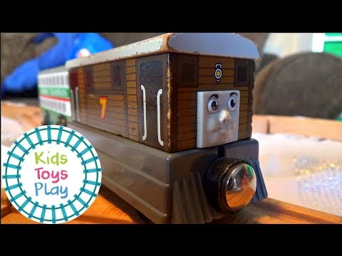 Thomas and Friends Season 21 | Hasty Hannah | Playing with Thomas Train Super Station | Toy Trains
