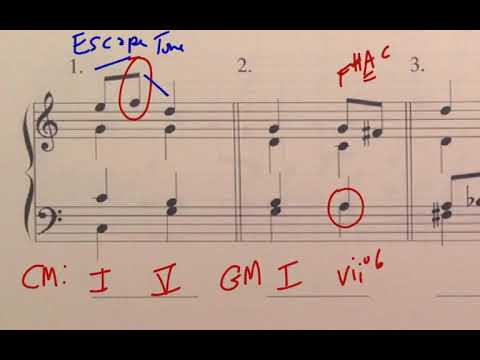 Music Theory: Introduction to Non-Harmonic Tones