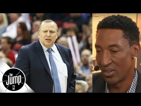 Scottie Pippen: Pressure\'s on Thibodeau to make Jimmy Butler trade work | The Jump