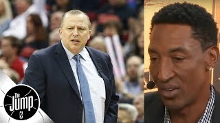 Scottie Pippen: Pressure's on Thibodeau to make Jimmy Butler trade work | The Jump