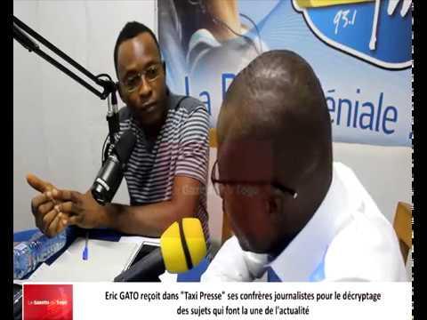Eric GATO reçoit comme invités du débat dans « Taxi Presse » ses confrères journalistes