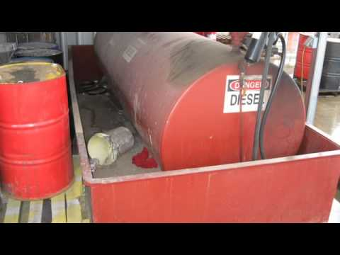 Diesel Storage Tank & Dispenser On GovLiquidation.com
