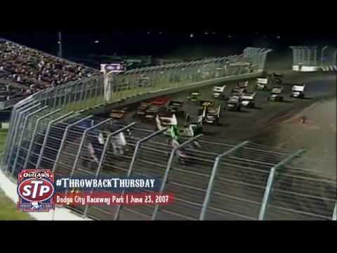 #ThrowbackThursday: World of Outlaws Sprint Cars June 23rd, 2007 Dodge City Raceway Park