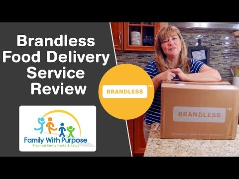 Brandless Organic Food Delivery Service Review