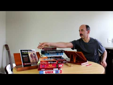 How to read books for better learning and good posture.