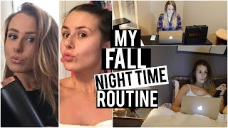 MY FALL NIGHTTIME ROUTINE 2015!
