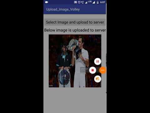 Android Upload image Using Volley To Server (PHP-MySQL)