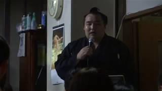 201080527 大相撲夏場所 優勝横綱鶴竜関 横綱鶴竜挨拶.