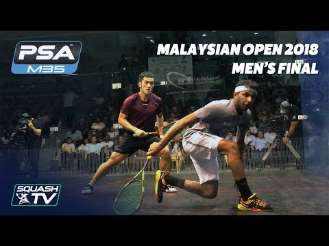 Squash: Tsz Fung Yip v Al Tamimi - Malaysian Open 2018 - Men's Final - Full Match