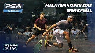 Squash: Tsz Fung Yip v Al Tamimi - Malaysian Open 2018 - Men\'s Final - Full Match