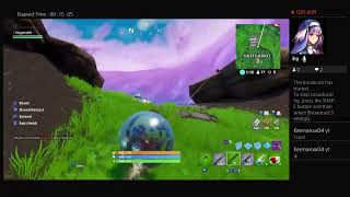 Fortnite kingjam849 try to get a victory royale
