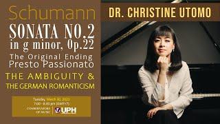 Lecture Dr. Christine Utomo: The Original Presto Passionato - Ambiguity in German Romanticism