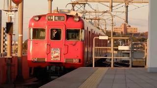 【ぎふ鉄道博物館系統板】名鉄6000系6028f 普通金山行き 太田川駅発車